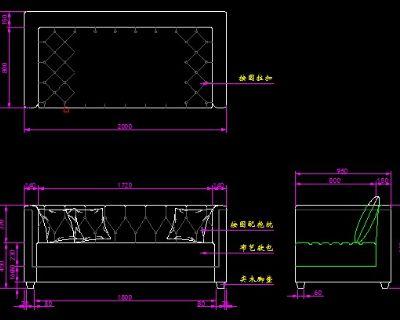 上一个:简欧沙发cad三视图下载 下一个:欧式三人沙发三视图cad格式 下