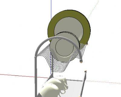 碗架SU模型