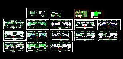 方丈殿电气设计全套CAD图