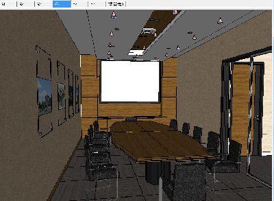 会议室草图大师模型