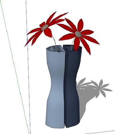 室内3d花卉植物sketchup模型
