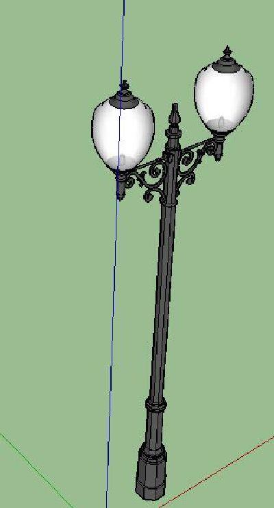 欧式铁艺景观灯具