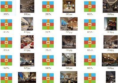 284套餐厅饭店餐馆3D模型 餐饮3DMAX模型