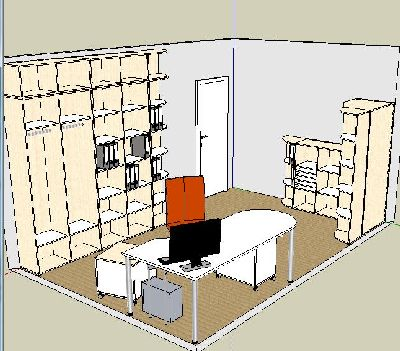 财务办公室SU模型